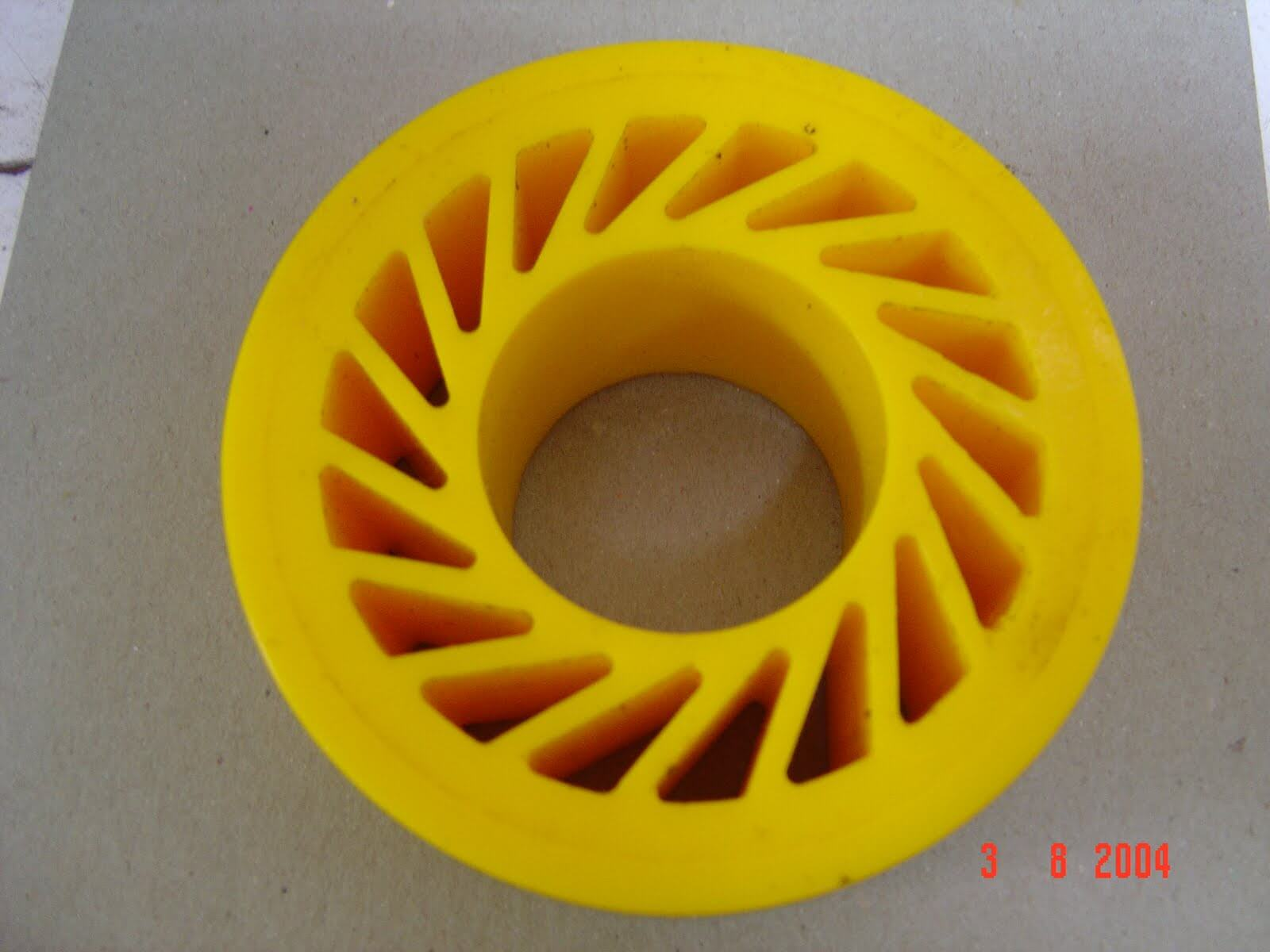 Soft Touch Wheels Custom Moulded Polyurethane