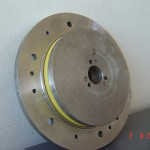 PU Lined Cable Sheath Wheel