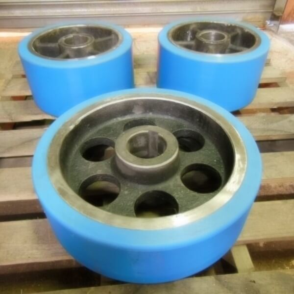 Rebonded Wheel and Tyre