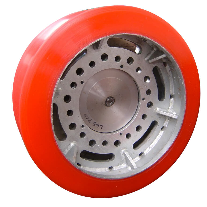 Polyurethane Launch and recovery-system wheel