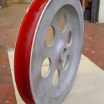 PU Lined Cable Sheath Wheel