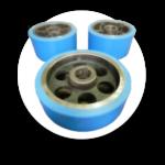 Rebonded Industrial Wheels and Tyres