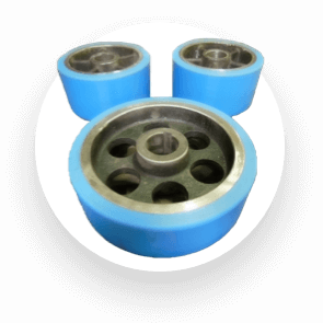 Rebonded Industrial Wheels and Tyres