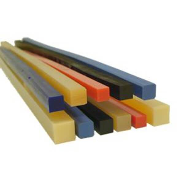Polyurethane cutting sticks for print industry