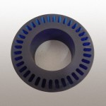 Polyurethane soft touch wheel black
