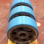 Rotary plant wheels
