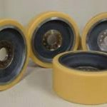 Re-covered Polyurethane Wheels